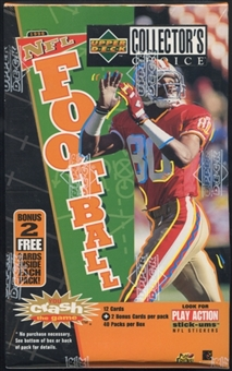 1996 Upper Deck Collector's Choice Football Retail 40-Pack Box
