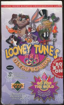 1996 Upper Deck Looney Tunes Olympic Cards Value Added Box