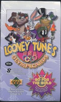 1996 Upper Deck Looney Tunes Olympic Cards Retail Box