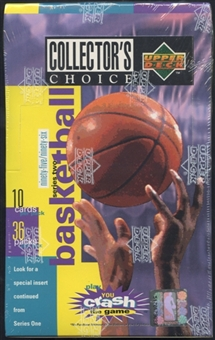 1995/96 Upper Deck Collector's Choice Series 2 Basketball Retail Box