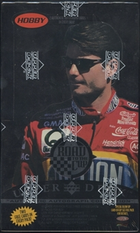 1996 Upper Deck Road To The Cup Racing Hobby Box