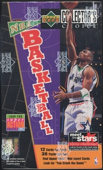 1996/97 Upper Deck Collector's Choice Series 1 Basketball Retail Box