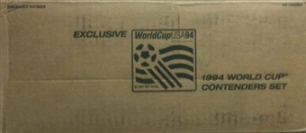 1994 Upper Deck World Cup English/Spanish Contenders Soccer Blister Case