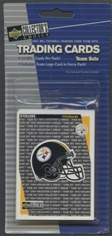 1997 Upper Deck Collectors Choice Pittsburgh Steelers Team Set