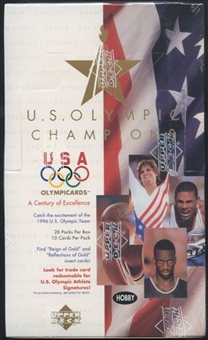 1996 Upper Deck U.S. Olympic Champions Hobby Box