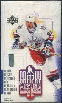 1999/00 Upper Deck Gretzky Living Legends Hockey Retail Box