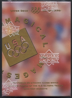 1996 Upper Deck U.S. Olympic Magical Images Box Set