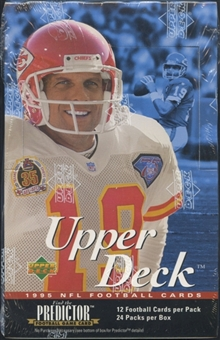 1995 Upper Deck Football Retail 24-Pack Box