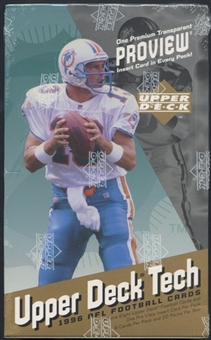 1996 Upper Deck Proview Football Hobby Box