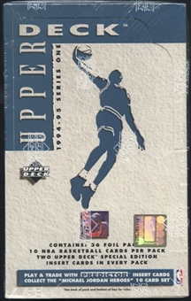 1994/95 Upper Deck Series 1 Basketball Retail Box