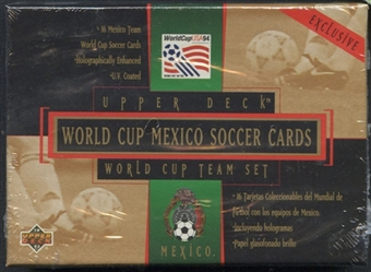 1994 Upper Deck World Cup Mexico Soccer Team Set