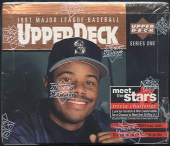 1997 Upper Deck Series 1 Baseball Retail Box