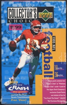 1995 Upper Deck Collector's Choice Football Prepriced Box