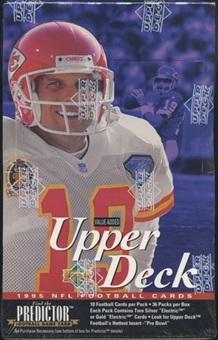1995 Upper Deck Football Value Added Box