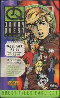 1996 Upper Deck Jonny Quest The Real Adventures Hobby Box