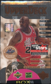 1996/97 Upper Deck Series 1 Basketball Blaster Box
