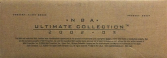 2002/03 Upper Deck Ultimate Collection Basketball 4-Box Hobby Case