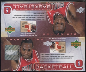 2002/03 Upper Deck Series 2 Basketball Retail Box