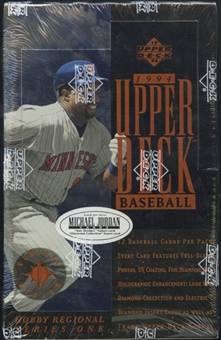 1994 Upper Deck Series 1 Central Baseball Hobby Box