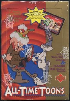 1996 Upper Deck All-Time Toons Retail Box