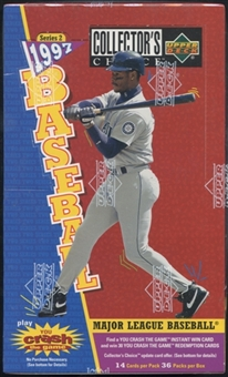 1997 Upper Deck Collector's Choice Series 2 Baseball Retail Box