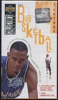 1996/97 Upper Deck Collector's Choice Basketball Factory Set