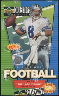 1997 Upper Deck Collector's Choice Series 1 Football 36-Pack Retail Box
