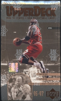 1996/97 Upper Deck Series 2 Basketball Retail 24-Pack Box