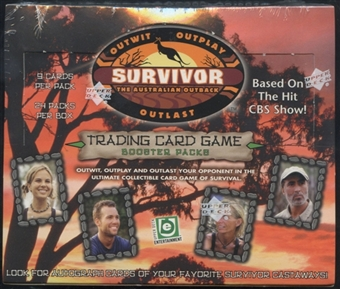 2001 Upper Deck Survivor: The Australian Outback Booster Box