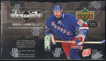 1998/99 Upper Deck Black Diamond Hockey Prepriced Box