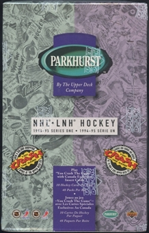 1994/95 Parkhurst Series 1 French Hockey Retail Box