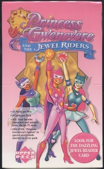 1996 Upper Deck Princess Gwenevere and The Jewel Riders Hobby Box