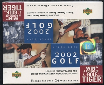 2002 Upper Deck Golf Retail Box