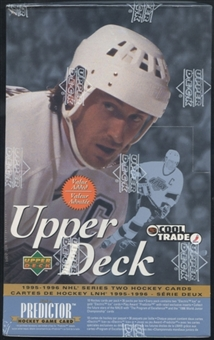 1995/96 Upper Deck Series 2 Canadian Hockey Value Added Box