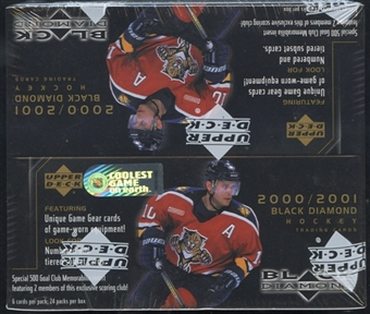 2000/01 Upper Deck Black Diamond Hockey Retail Box