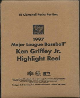 1997 Upper Deck Diamond Vision Baseball Ken Griffey Jr. Highlight Reel Retail Box