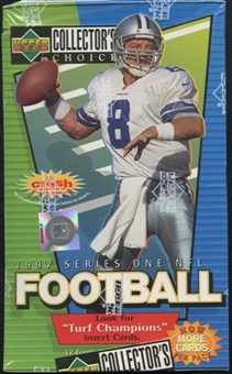 1997 Upper Deck Collector's Choice Series 1 Football Retail Box