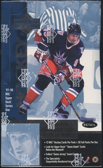 1997/98 Upper Deck Series 1 Hockey Retail Box