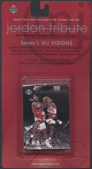 1997/98 Upper Deck Basketball Series 1: MJ Visions Michael Jordan Tribute Factory Set
