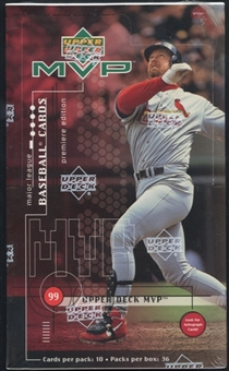 1999 Upper Deck MVP Baseball Retail Box