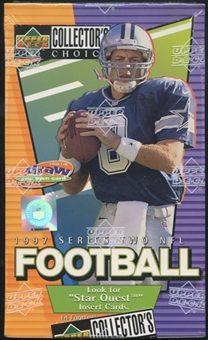 1997 Upper Deck Collector's Choice Series 2 Football Retail Box
