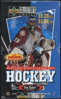 1997/98 Upper Deck Collector's Choice Hockey Prepriced Box