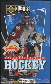 1997/98 Upper Deck Collector's Choice Hockey Retail Box
