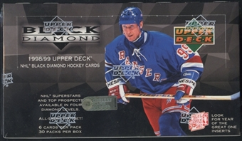 1998/99 Upper Deck Black Diamond Hockey Retail Box