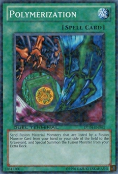 Yu-Gi-Oh Duel Terminal 4 Single Polymerization Common DT04