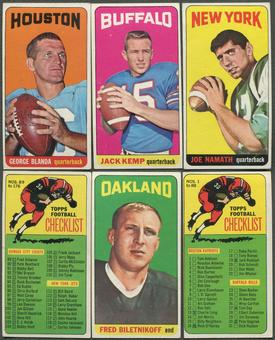 1965 Topps Football Partial Set (VG)