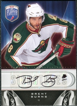 2009/10 Upper Deck Be A Player Signatures #SBB Brent Burns Autograph