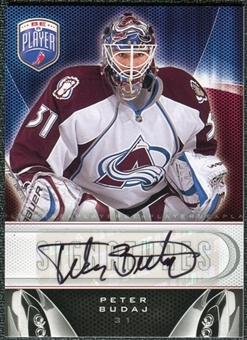 2009/10 Upper Deck Be A Player Signatures #SBU Peter Budaj Autograph