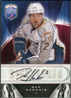 2009/10 Upper Deck Be A Player Signatures #SDH Dan Hamhuis Autograph