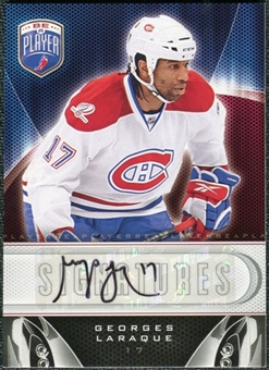2009/10 Upper Deck Be A Player Signatures #SGL Georges Laraque Autograph